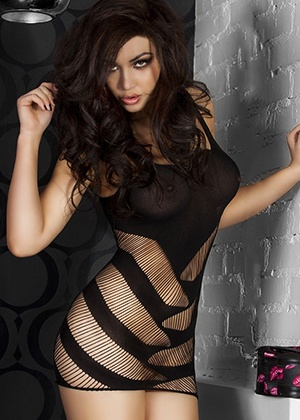 lingerie Mini-robe Loelia